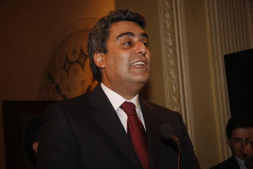مقدم الإحتفال أنطوان سعد