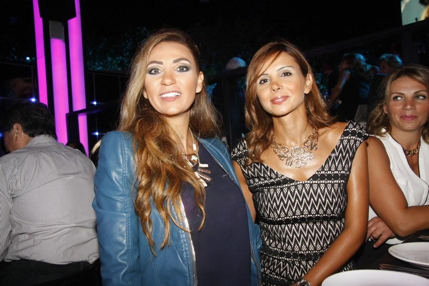 لينا لبّس ودوريس سعد