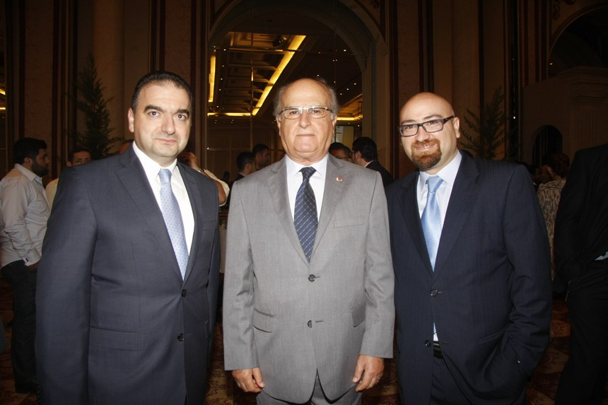 رامي وعصام سليمان وأنطوان صفير