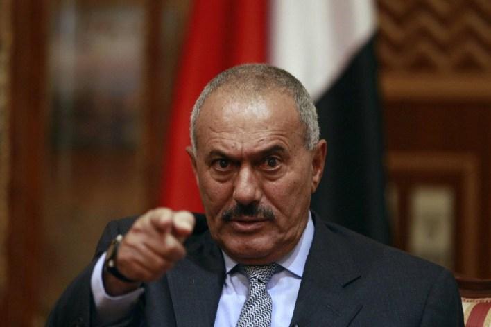 الرئيس السابق علي عبدالله صالح: ساهم في دعم الحوثيين سراً؟