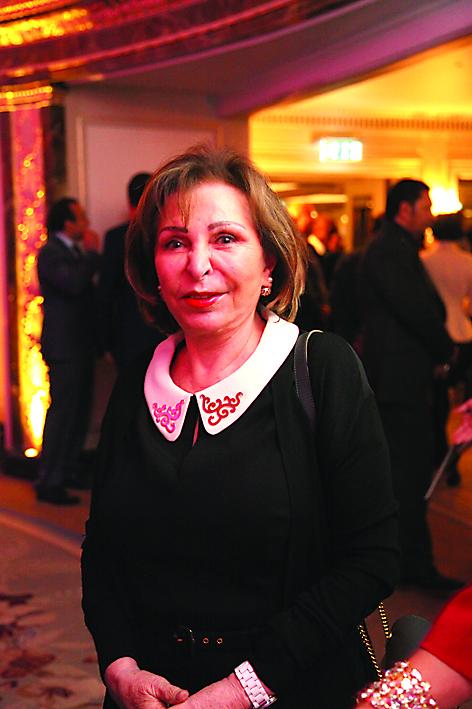 سفيرة البحرين أليس سمعان