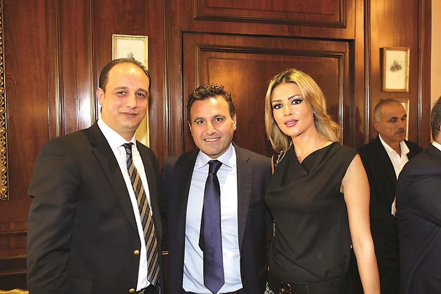 جوهرة شاهين، عصام عميرة، محمد رحال