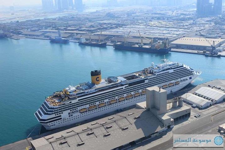 ميناء زايد ينتظر 94 سفينة سياحية هذه السنة