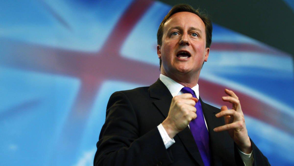 رئيس حكومة بريطانيا ديفيد كاميرون: عوّل كثيراً على الصخر الزيتي