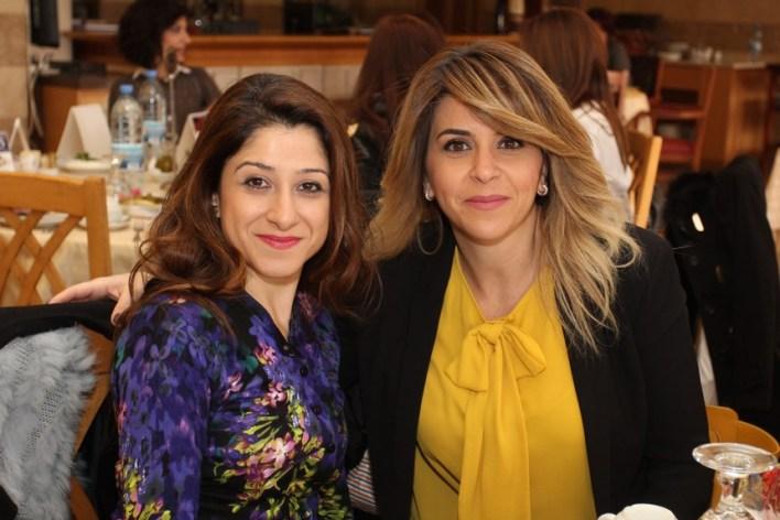 لينا المصري وميراي حتي