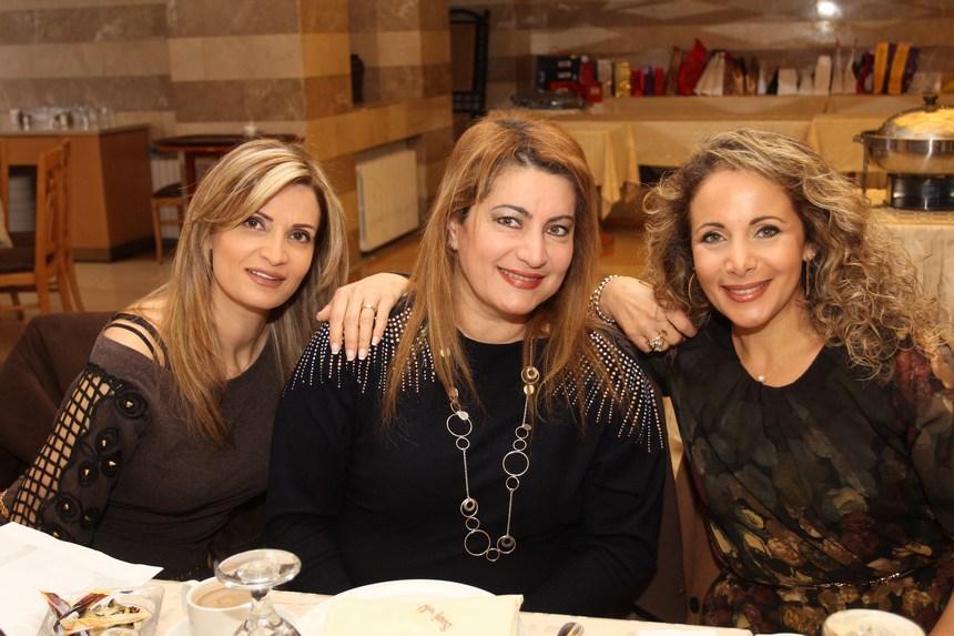 لميس حنينة، كارلا عبودي، ريما تادرس