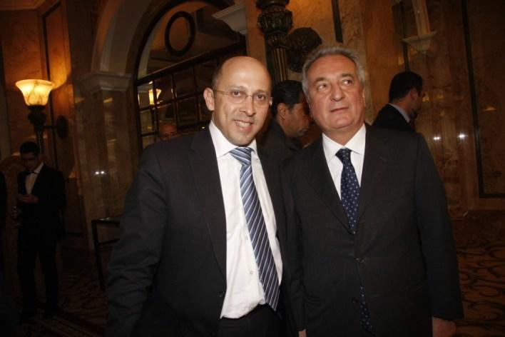 سفير إيطاليا جيوسيبي مورابيتو والنائب ألان عون