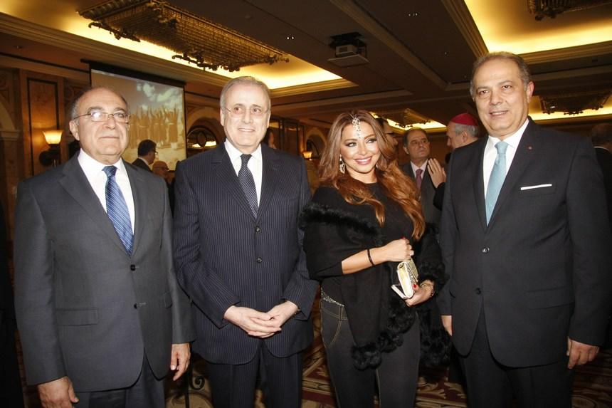 السفير إيلي الترك، زينة جانبيه، جوزيف حبيس، السفير ميشال خوري