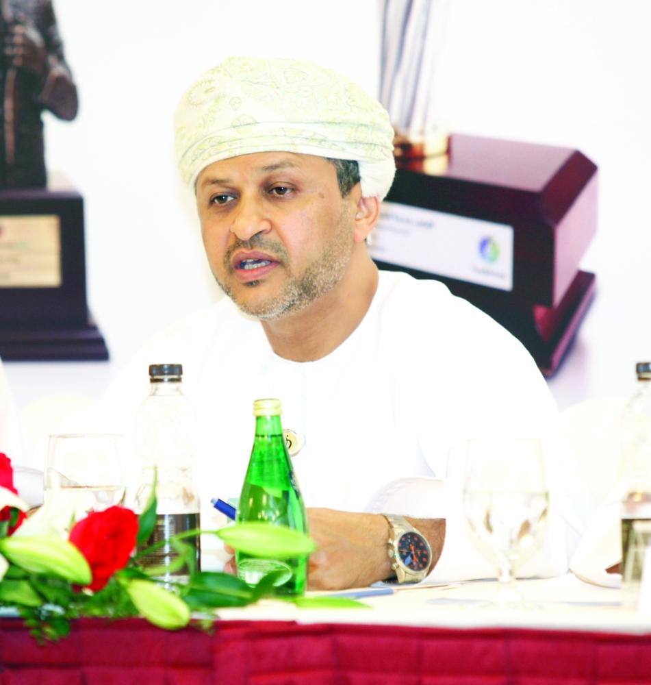 الرئيس التنفيذي لبنك ظفار عبد الحكيم بن عمر العجيلي: النتيجة كانت مرضية للعام 2014