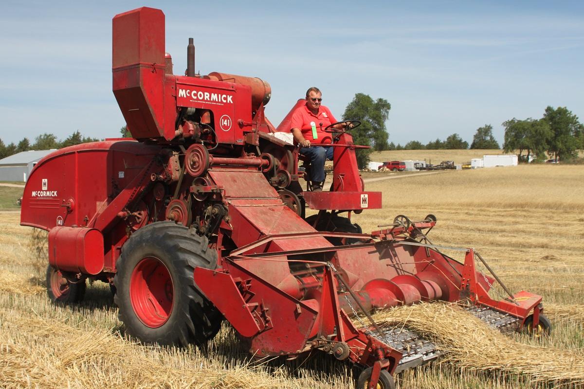 حصادات زراعية: التكنولوجيا ستطورها