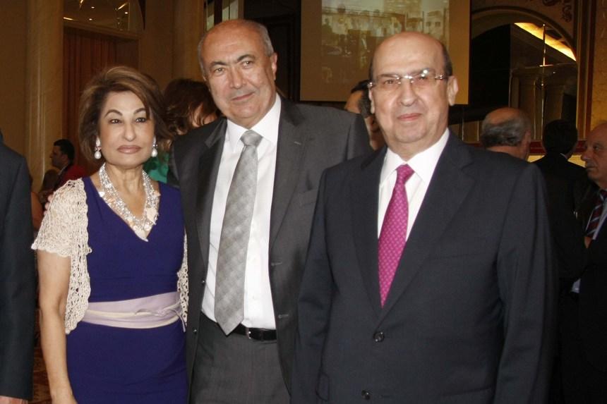 الوزير السابق ناظم الخوري، فؤاد مخزومي، روزي بولس