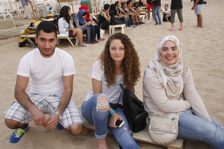 رانيا خلف، ليا إبراهيم، جوي حداد