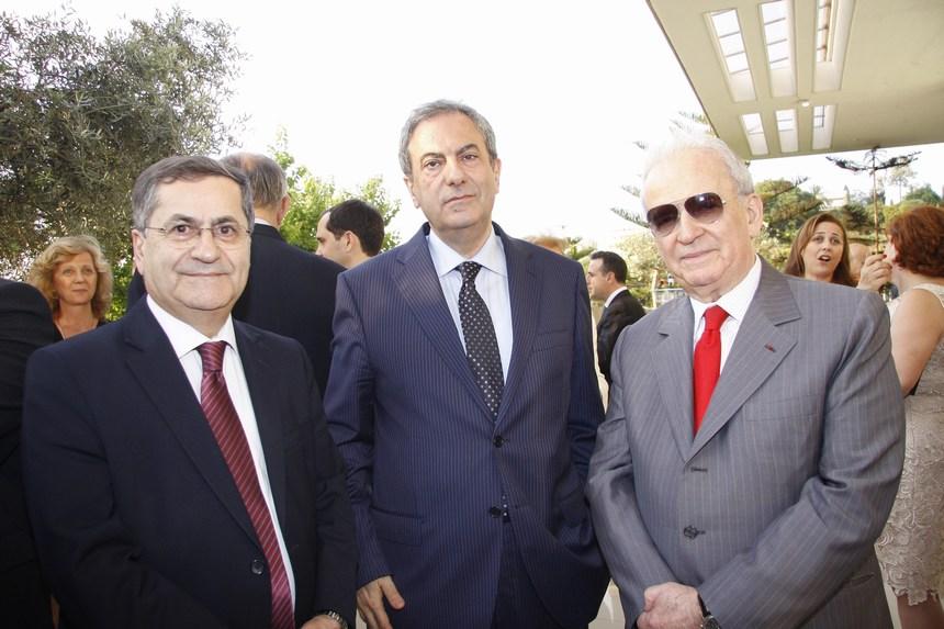 النواب: مروان حماده، فريد الياس الخازن، ميشال موسى
