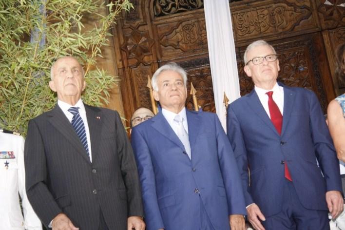 السفير الفرنسي باتريس باؤلي، محمد بري، الوزير سمير مقبل