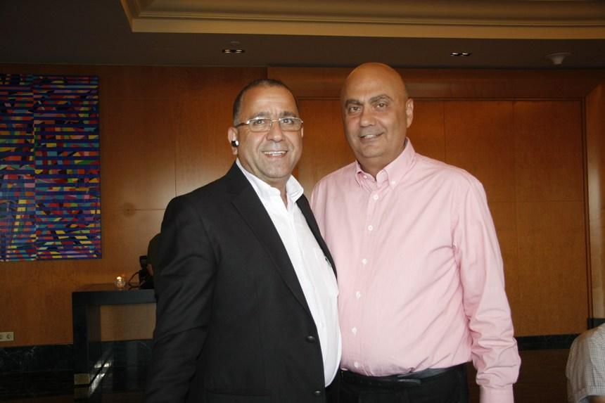 جورج شهوان وجورج سعد