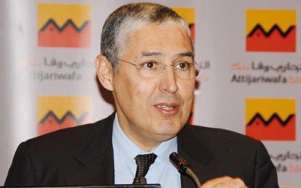 """رئيس مصرف """"التجاري وفا بنك"""" محمد الكتاني"""