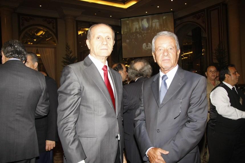 راجح الخوري والوزير السابق مروان شربل
