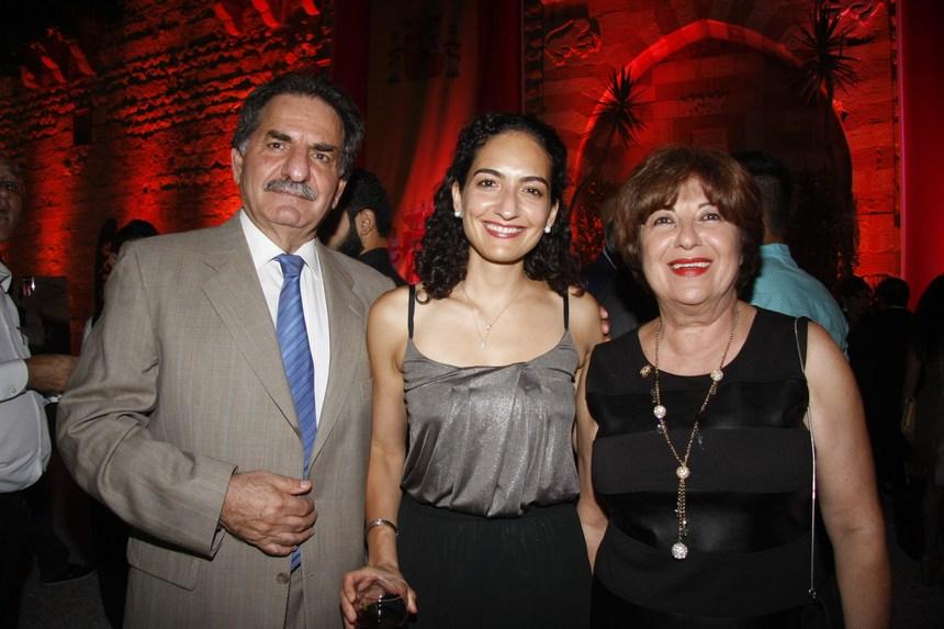 بولا فغالي، جوليا ومحمد شقير