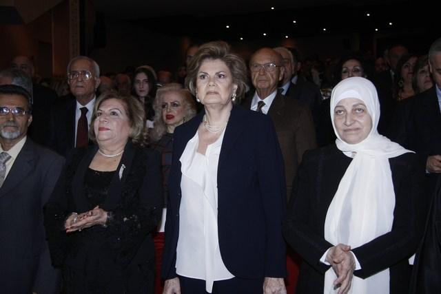بهية الحريري، منى الهراوي، هيام صقر