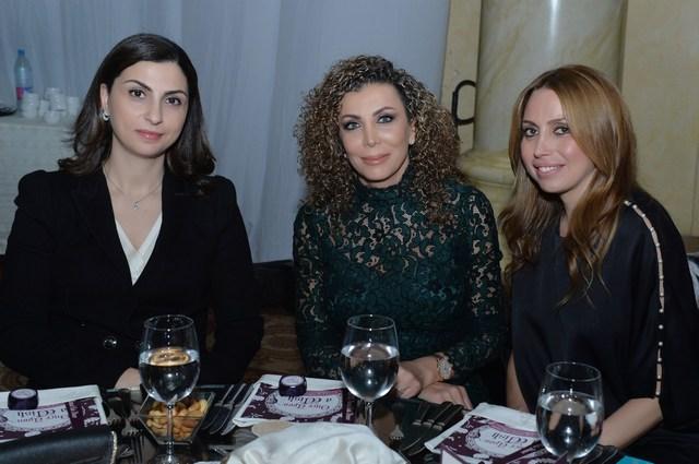 كارول بو درويش، ناديا حمدون، مايا كنعان