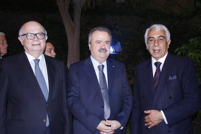 السفير جورج سيام، النائب ياسين جابر، صلاح سلام