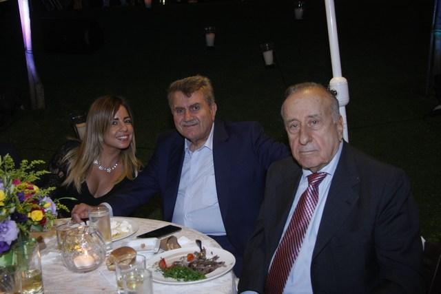 النقيب الياس عون، إدمون جمال، جاين شرابيه