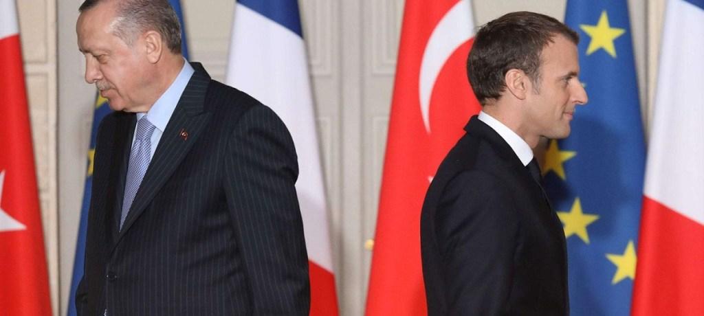 مَن سيَتراجع أولاً في شرق المتوسط ماكرون أم أردوغان؟