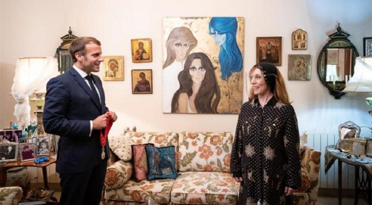 ماكرون في بيت فيروز: زيارة لبنان