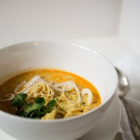 Khao Soi~Chiang Mai Curry Noodle Coconut Soup