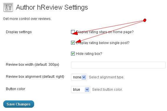 Cara mengatur WordPress Plugin AuthorHReview