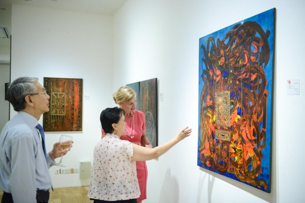 Unique Exhibition Showcases Works Of Central Asian Artists