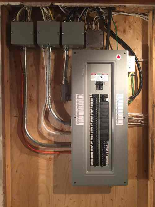small resolution of electrical panel and wiring upgrades and replacements
