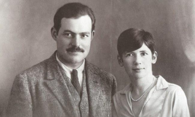 Hemingway and Pfeiffer wedding day