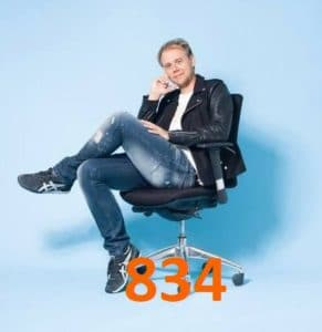 a state of trance 834