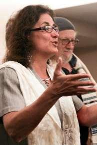Rabbi Debra Kolodny   As the Spirit Moves Us. 2012 Simchat Torah - Rabbi Debra Teaching
