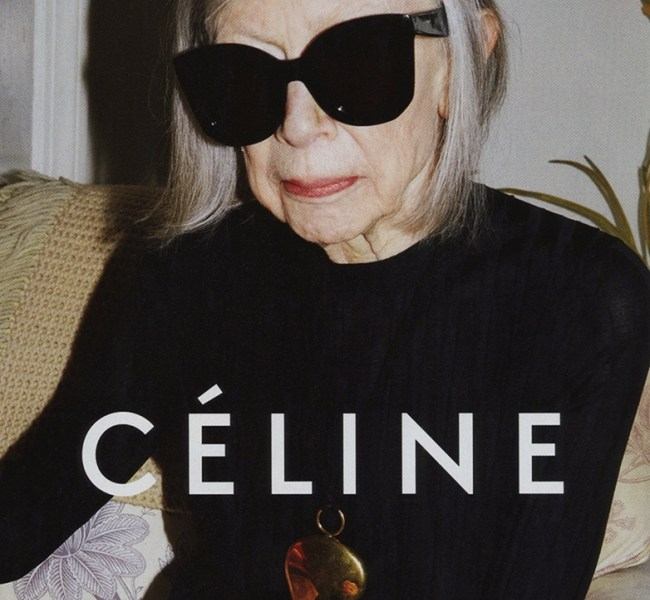Joan Didion for Céline by Juergen Teller 1