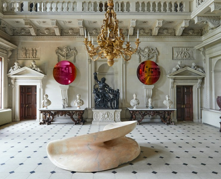 Sir Anish Kapoor at Houghton Hall