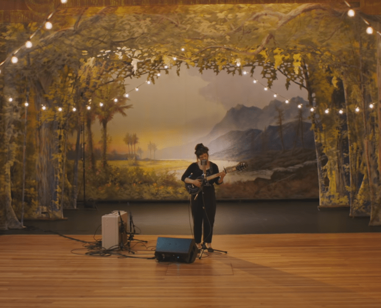 "Watch: Angel Olsen's ""Waving, Smiling"" Live at the Masonic Temple"