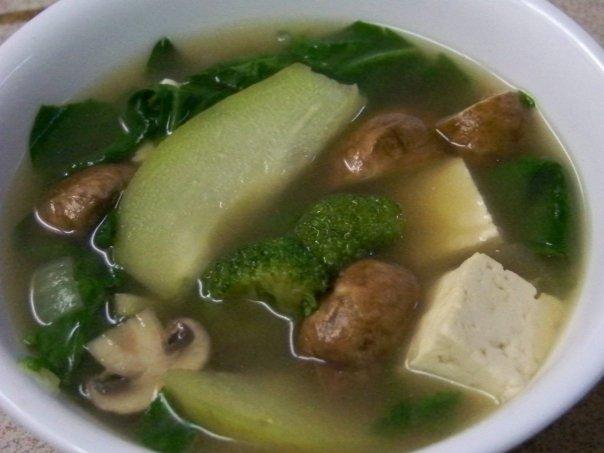 vegan tinola