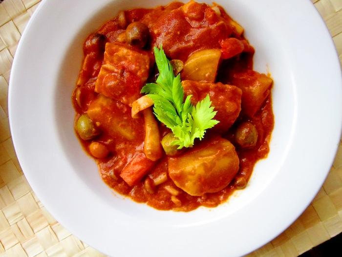 Vegan Filipino: Kaldereta Recipe