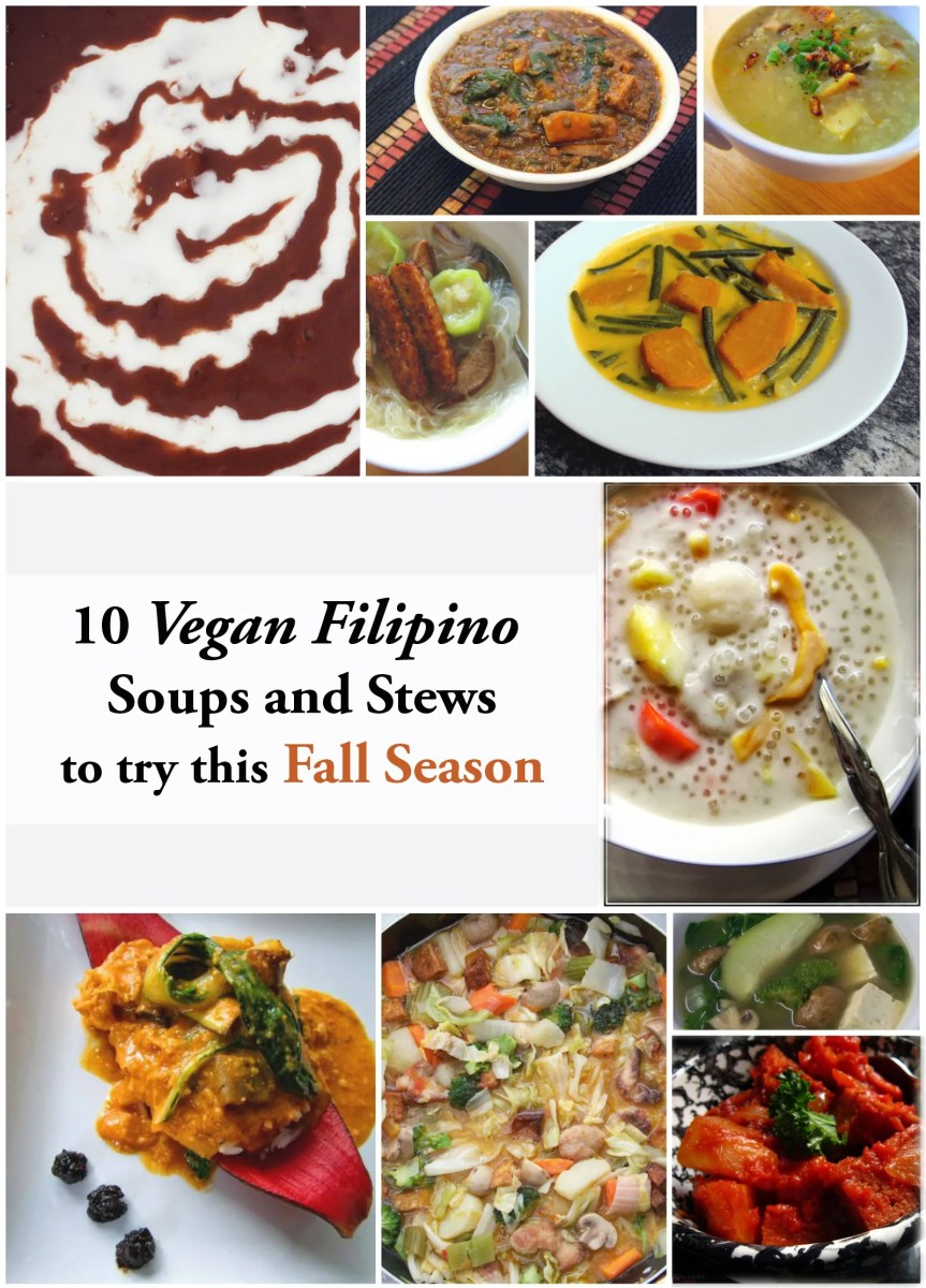 10 Vegan Filipino Soups and Stews for Fall