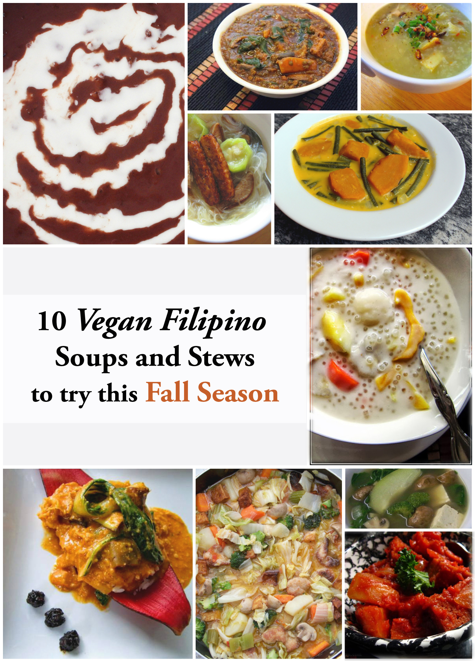 astig vegan fall soups and stews