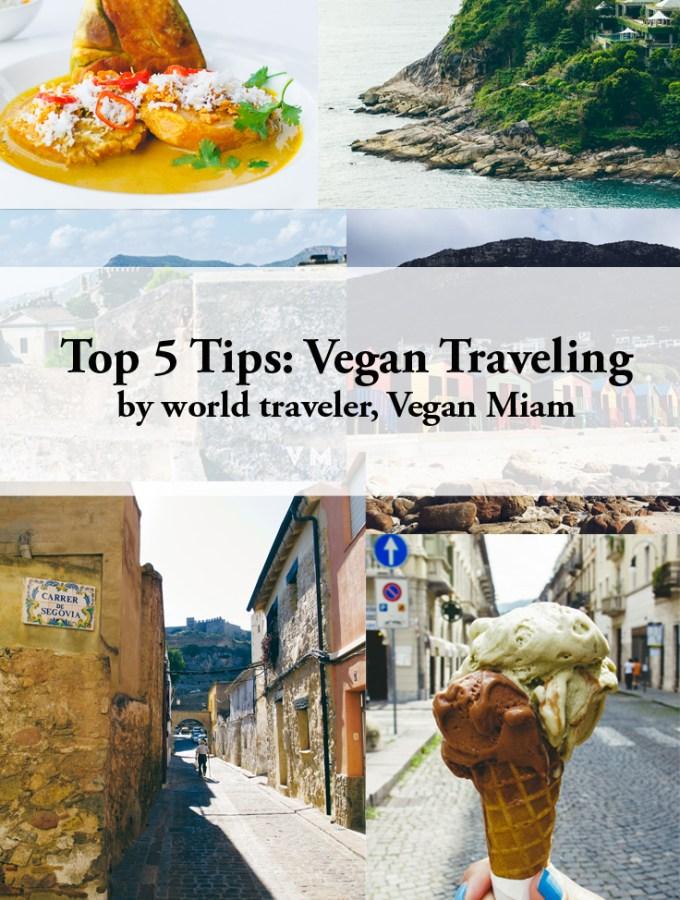 top 5 vegan travel tips on astig vegan