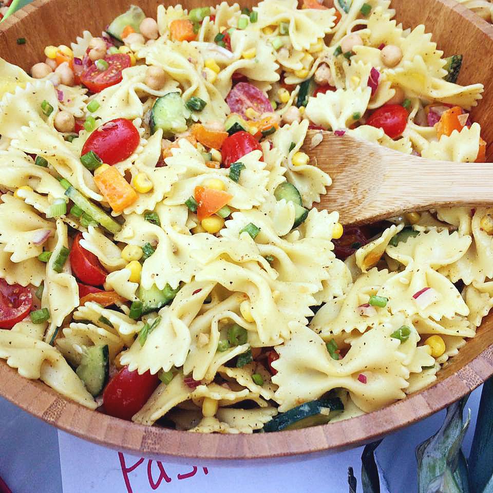 The Food At The Bay Area Vegan Potluck 2016