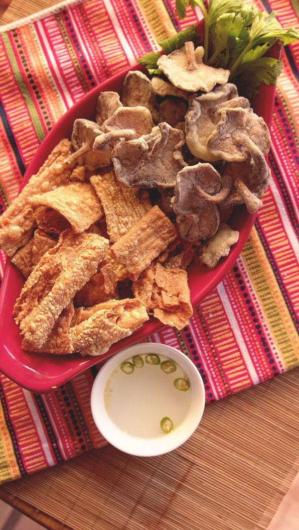 Vegan Filipino Chicharon, Two Ways