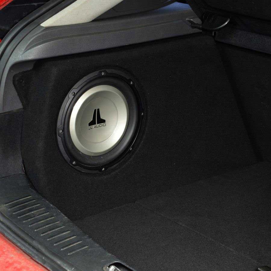 Mustang Stereo Wiring Diagram Ford Focus 2 Subwoofer Baskasse 10 Quot 25cm Astina Dk