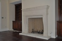 Modern Cast Stone Fireplaces Surround - Astone Artisan