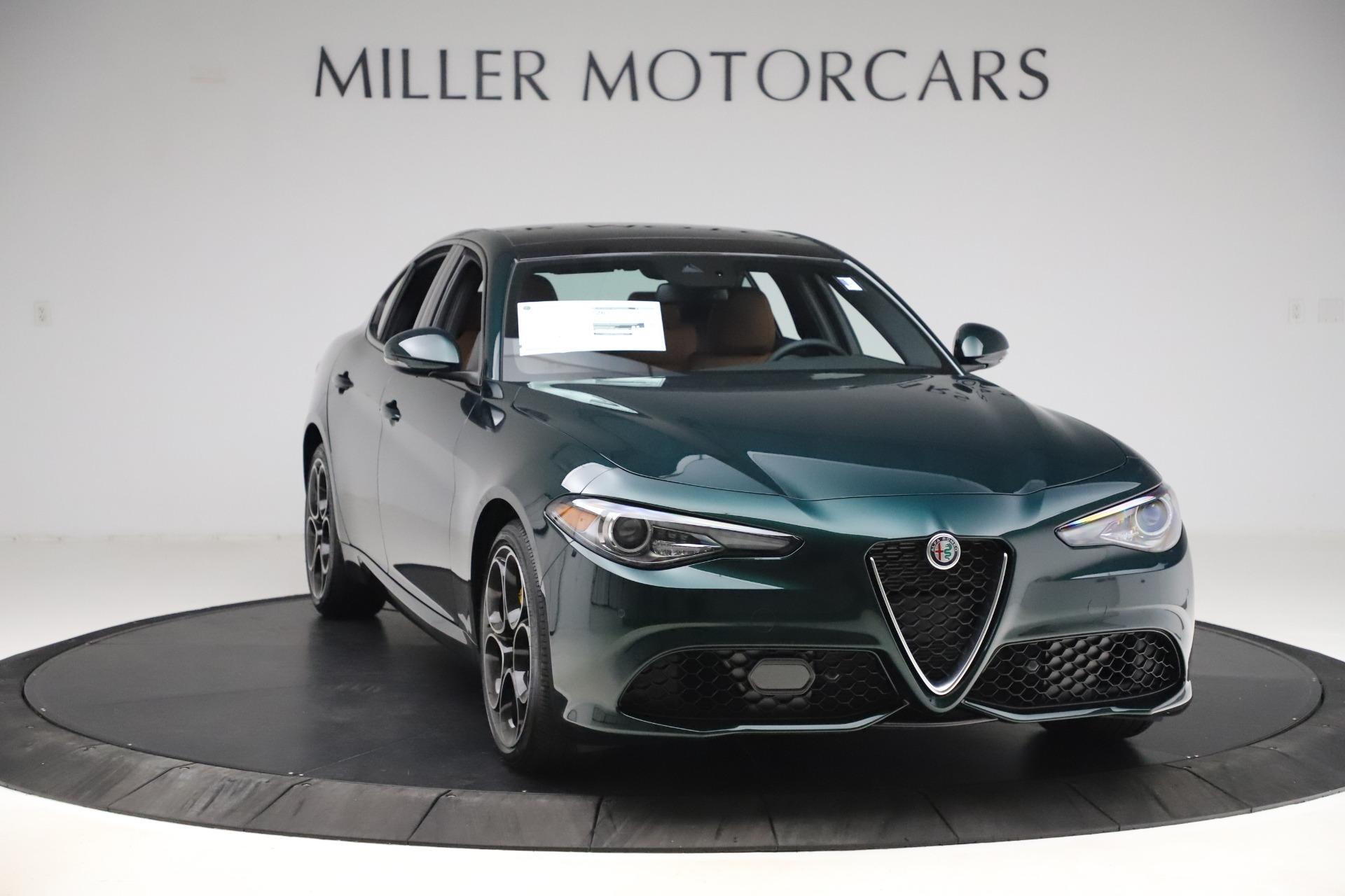 New 2020 Alfa Romeo Giulia Ti Sport Q4 For Sale (Special Pricing) | Aston Martin of Greenwich Stock #L764