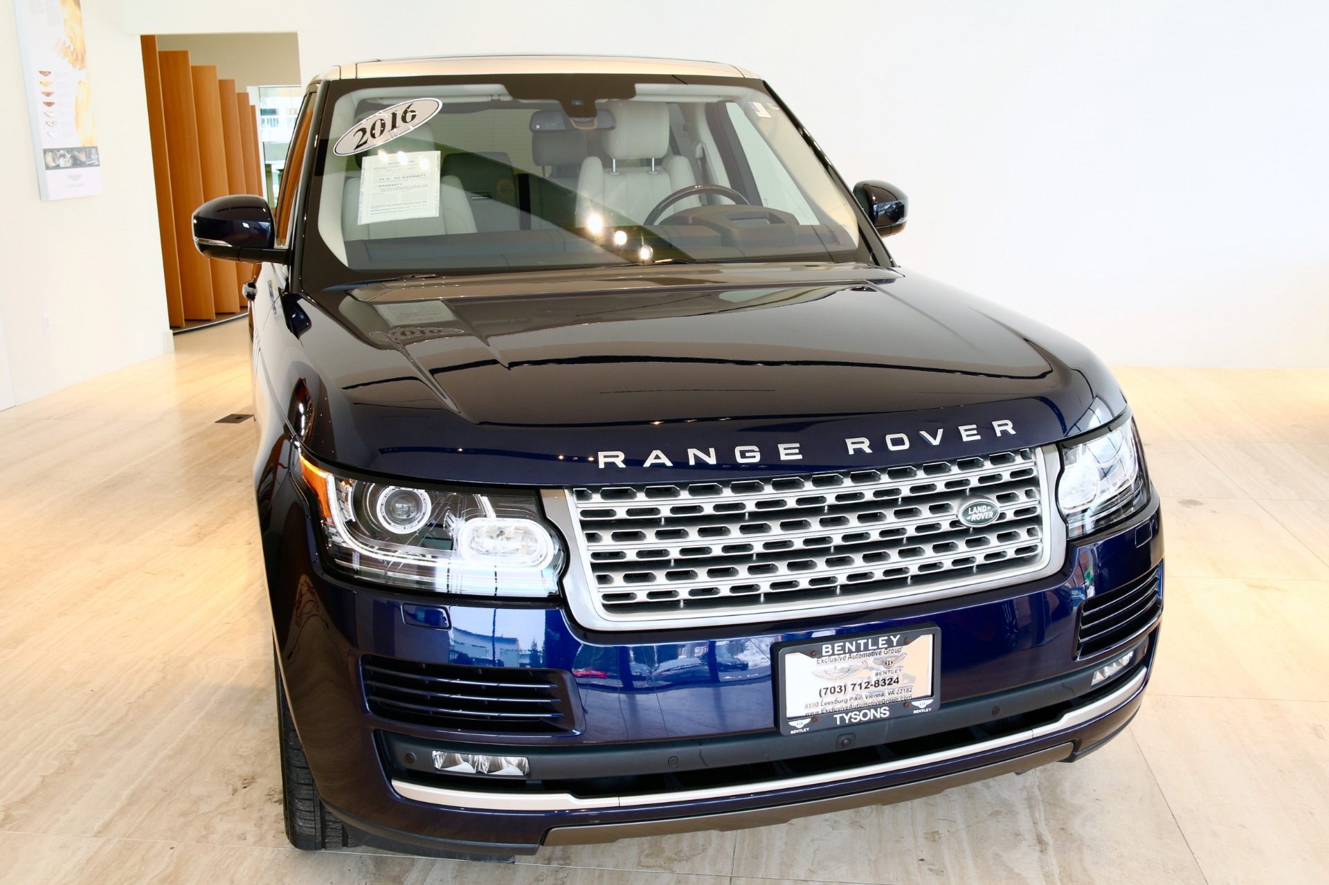 2016 Land Rover Range Rover Supercharged Stock 7NC B for
