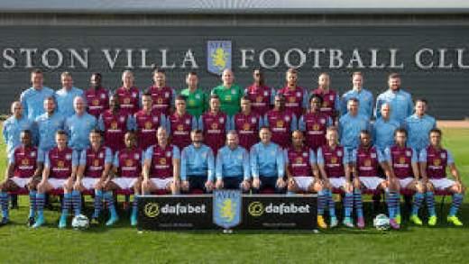 Villa squad 2014-15
